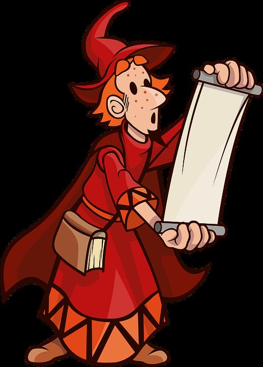 a clipart wizard