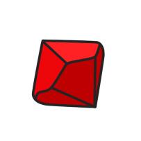 red d10 cartoon clipart