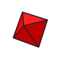 red d8 cartoon clipart